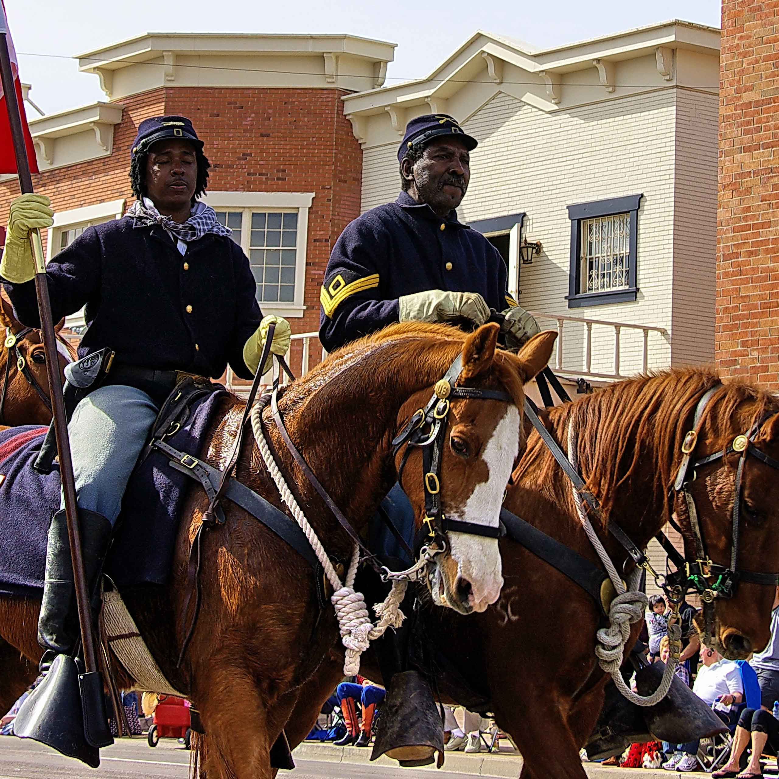 Buffalo Soldiers were established by Congress as the first peacetime all-black regiments in the regular U.S. Army. Salute to their service in Tombstone August 2 – 3 from 10am – 4pm on Allen Street.