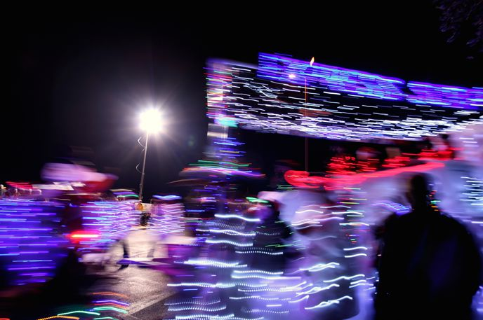 Take in the glow of the holidays at the 29th Annual City of Phoenix Electric Light Parade December 15 at 7pm.