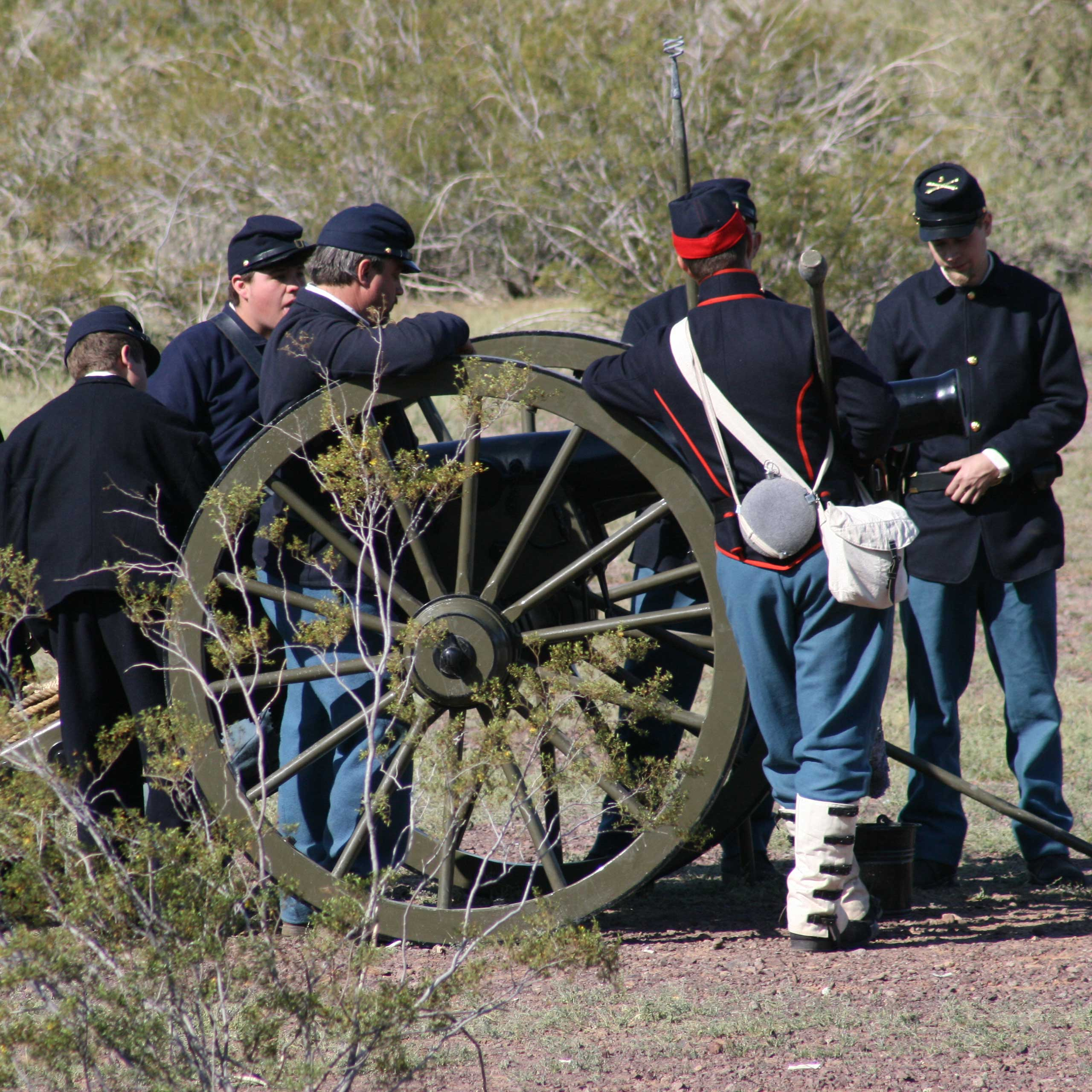 Civil War in the Southwest is an annual event held at Picacho Peak State Park depicting the historic re-enactment of an Arizona Civil War skirmish, Battle of Picacho Pass.